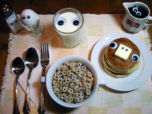 A Hearty Breakfast Watches Out for You