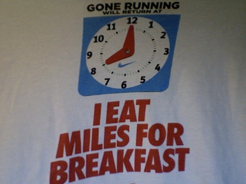 I Eat Miles for Breakfast